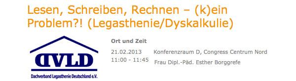 Vortrag Didacta 21.02.2013