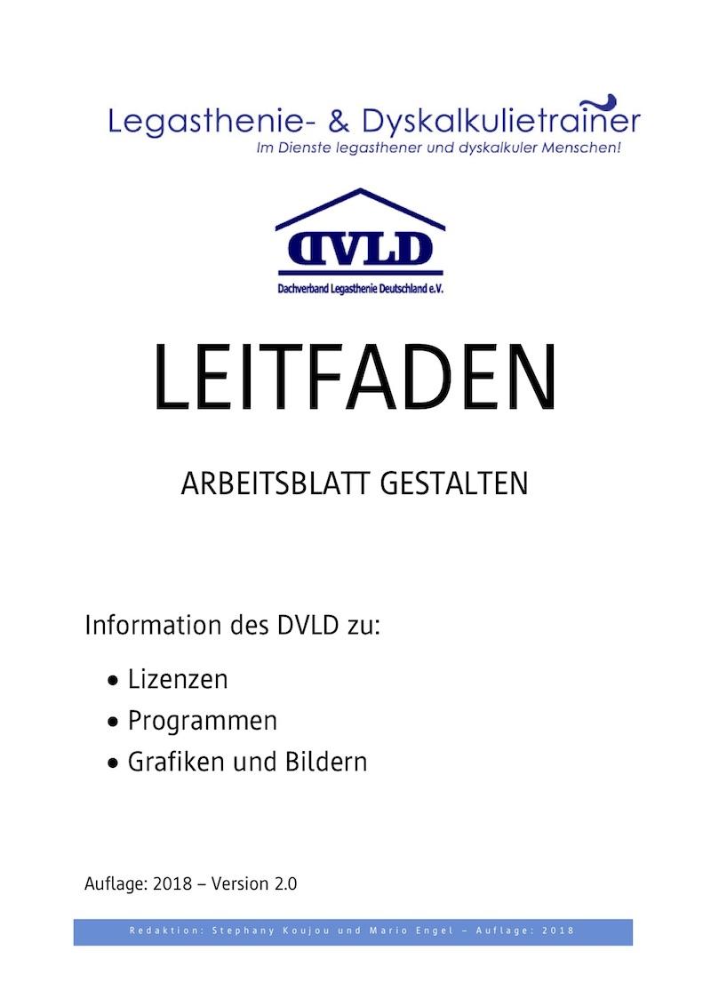 Update: Leitfaden Arbeitsblatt gestalten - DVLD