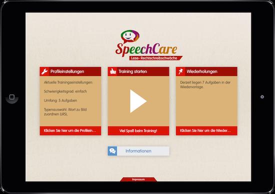 SpeechCare: LRS-App