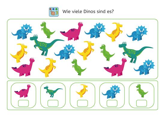 Dino-Wahrnehmungstraining
