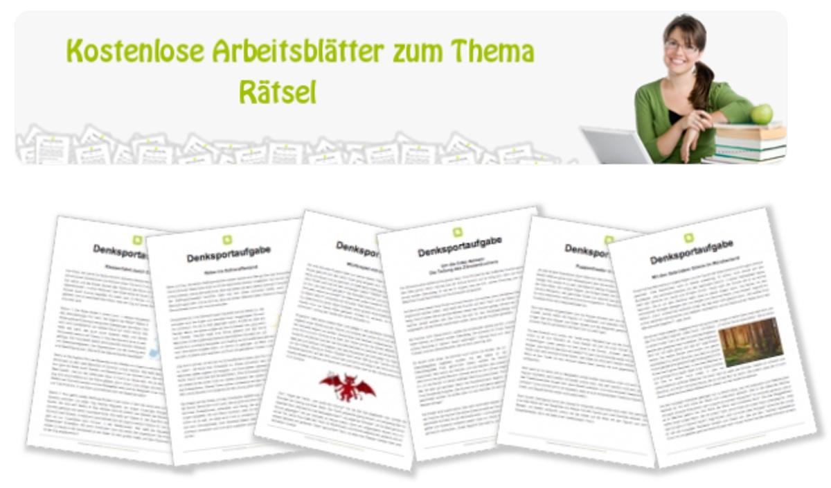 Rätsel, Lesen, Leserätsel, Grundschule, Legasthenie, Legasthenietraining, AFS-Methode