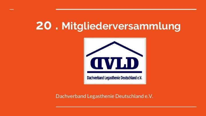 Mitgliederversammlung des DVLD e.V.