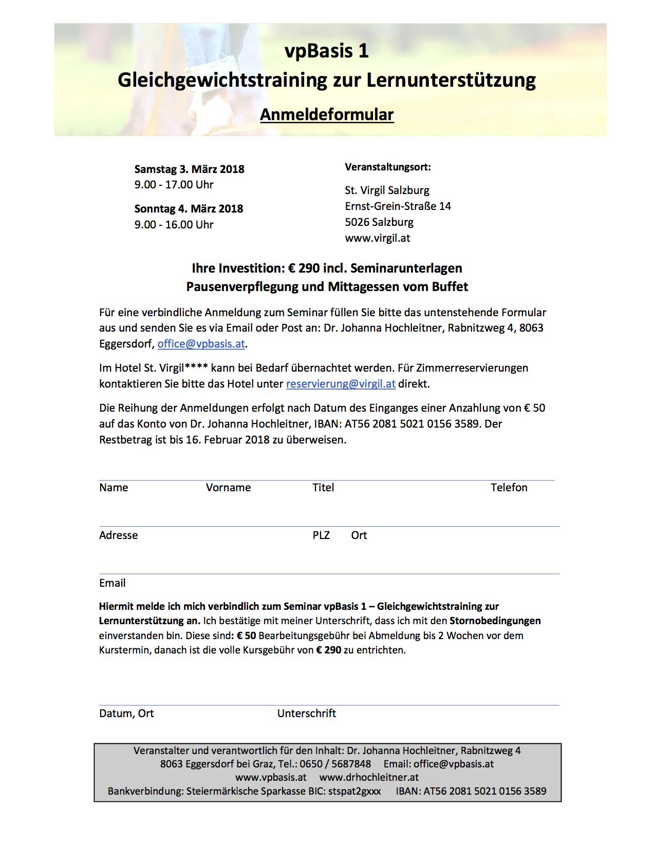 Seminar, Legasthenie, Dyskalkulie, AFS-Methode, Gleichgewicht