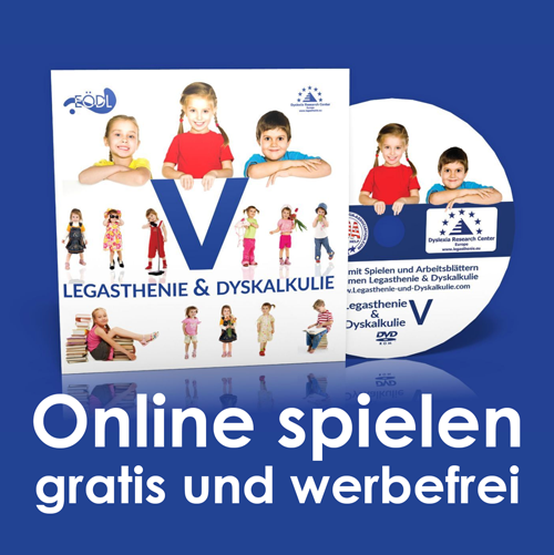 Legasthenie & Dyskalkulie DVD-Rom