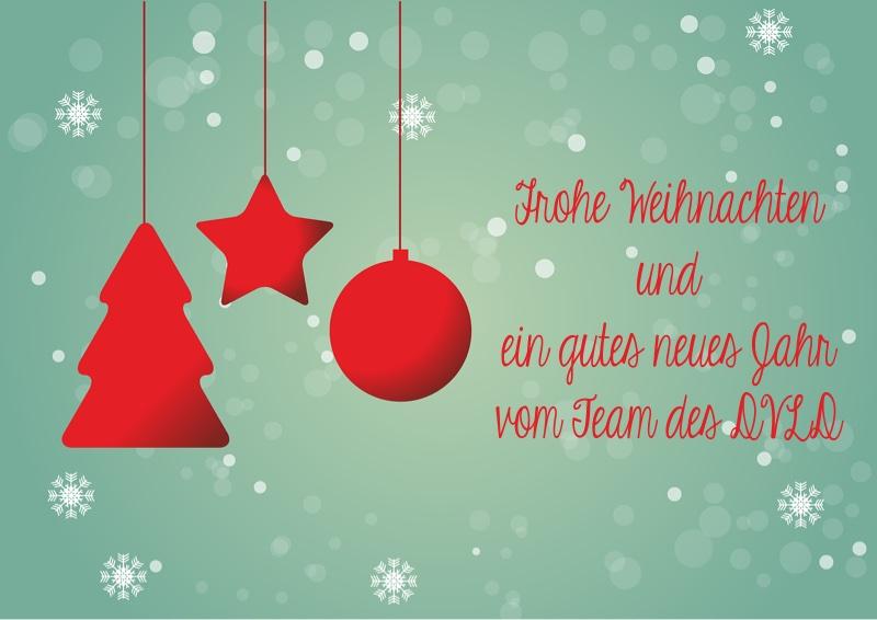 Frohe Weihnachten und ein gutes Jahr in 2020!